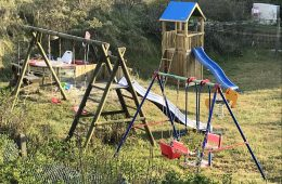 Spielplatz vom Meyenburg & Gerds Höft auf der Insel Juist