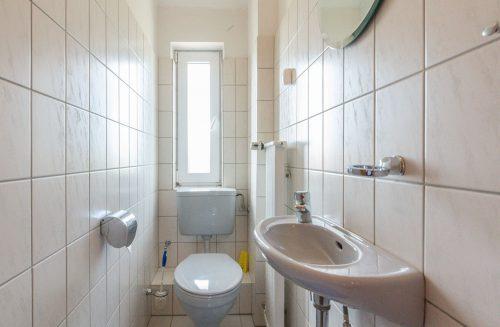 Bad im Appartment Wattblick von Meyenburg & Gerds Höft