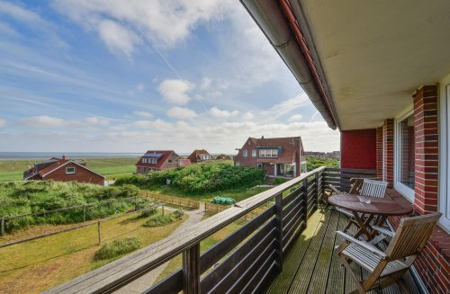 Balkon vom Appartment Wattblick von Meyenburg & Gerds Höft auf Juist