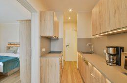 Küche vom Appartment Billriff in Meyenburg & Gerds Höft