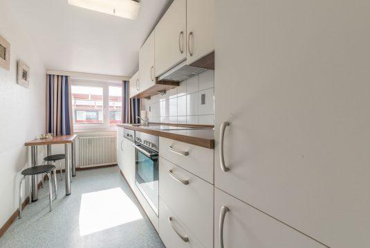 Küche im Appartment Süderoog von Meyenburg & Gerds Höft auf Juist
