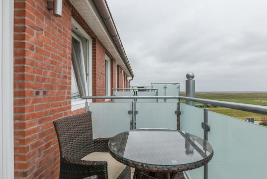 Terrasse vom Appartment Lütje Hörn von Meyenburg & Gerds Höft auf Juist