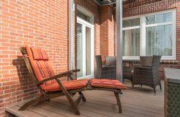 Terrasse vom Appartment Billriff in Meyenburg & Gerds Höft auf Juist