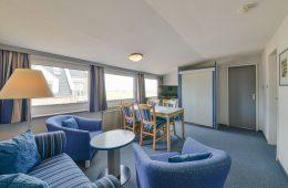 Wohnbereich im Appartment Süderoog von Meyenburg & Gerds Höft auf Juist