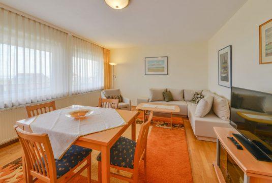 Wohnbereich vom Appartment Wattblick in Meyenburg & Gerds Höft auf Juist
