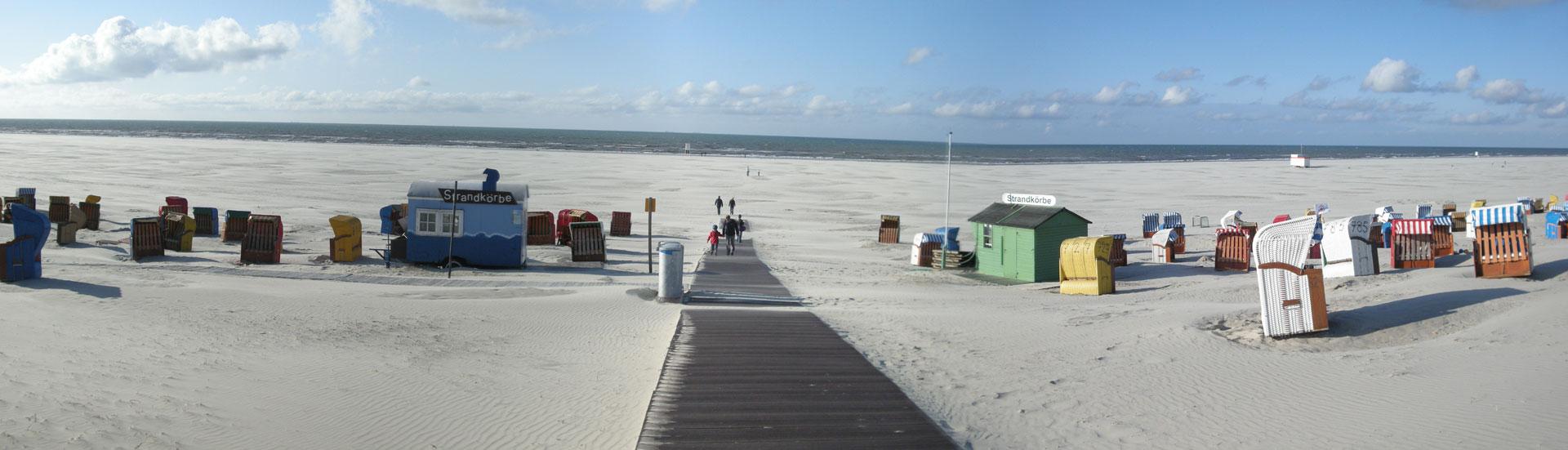 Strand auf der Insel Juist