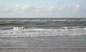 Blick auf die Nordsee von Juist